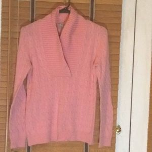 Bubblegum Pink Cashmere Sweater